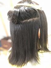 膨らむくせ毛